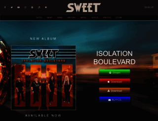 thesweet.com screenshot