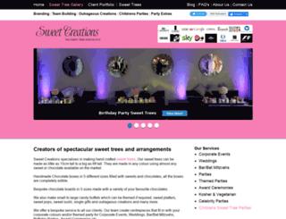 thesweetcreations.co.uk screenshot