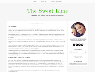 thesweetlime.blogspot.com screenshot
