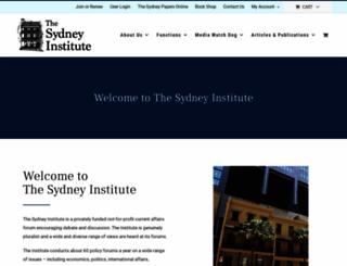 thesydneyinstitute.com.au screenshot