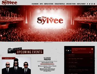 thesylvee.com screenshot