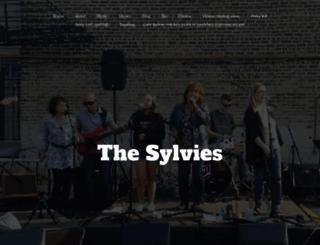 thesylvies.com screenshot