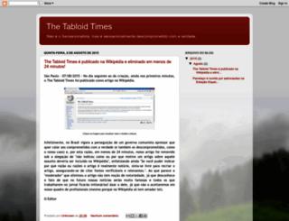thetabloidtimes.blogspot.com.br screenshot