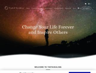 thetahealing.com screenshot