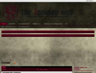thetangledweb.net screenshot