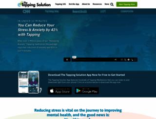 thetappingsolution.com screenshot