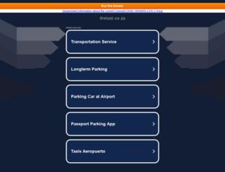 thetaxi.co.za screenshot