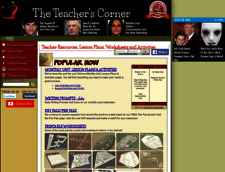 theteacherscorner.net screenshot