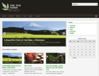 theteaguide.com screenshot