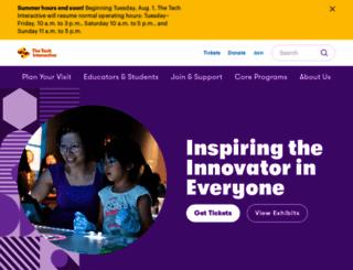 thetech.org screenshot
