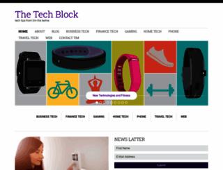 thetechblock.com screenshot
