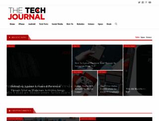 thetechjournal.com screenshot