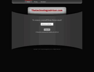 thetechnologyadvisor.com screenshot