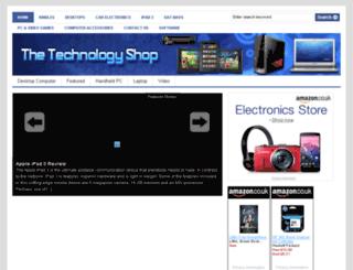 thetechnologyshop.net screenshot