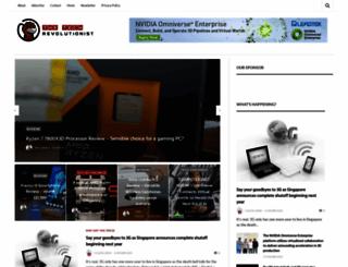 thetechrevolutionist.com screenshot