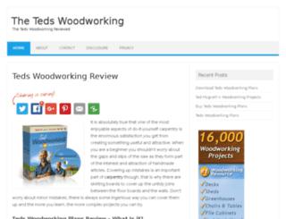 thetedswoodworking.net screenshot