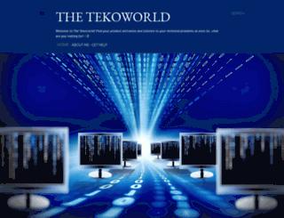 thetekoworld.blogspot.com screenshot