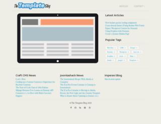thetemplateblog.com screenshot