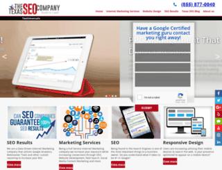 thetexasseocompany.com screenshot