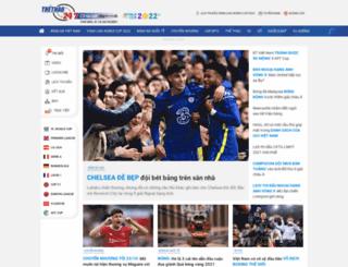 thethao247.com.vn screenshot