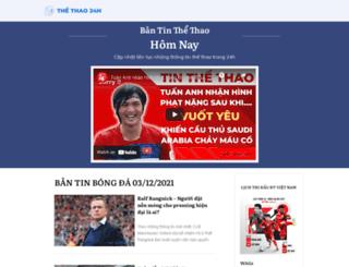 thethao24h.vn screenshot