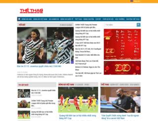 thethaovietnam.vn screenshot