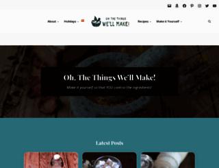thethingswellmake.com screenshot