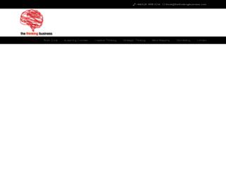 thethinkingbusiness.com screenshot