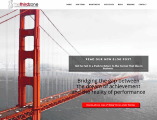 thethirdzone.com screenshot