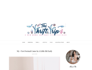 thethrifttrip.com screenshot