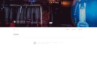 thethroneroomchicago.queueapp.com screenshot