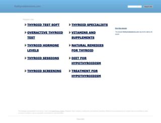 thethyroidsessions.com screenshot