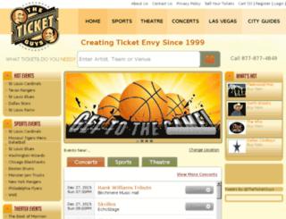 theticketguys.com screenshot