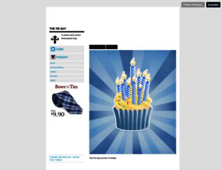 thetieguy.tumblr.com screenshot