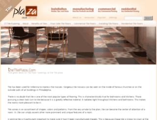 thetileplaza.com screenshot