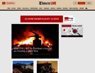 thetimes.co.za screenshot