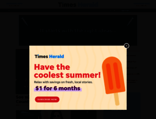 thetimesherald.com screenshot