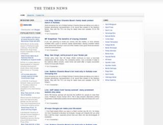thetimesnewsid.blogspot.com screenshot