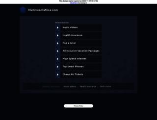thetimesofafrica.com screenshot