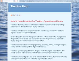 thetinnitushelp.blogspot.com.br screenshot