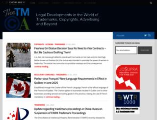thetmca.com screenshot