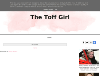 thetoffgirl.co.uk screenshot