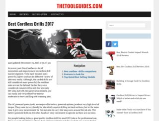 thetoolguides.com screenshot