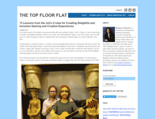 thetopfloorflat.com screenshot