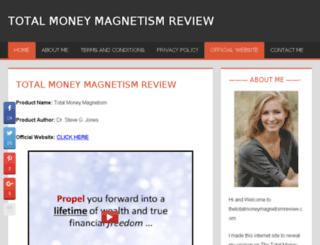 thetotalmoneymagnetismreview.com screenshot