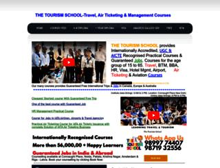 thetourismschool.com screenshot