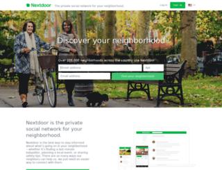 thetownesofautumnoaks.nextdoor.com screenshot