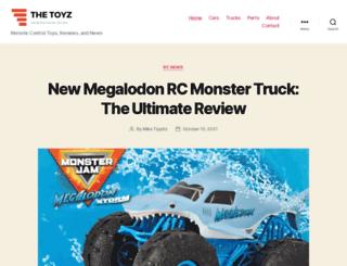 thetoyz.com screenshot