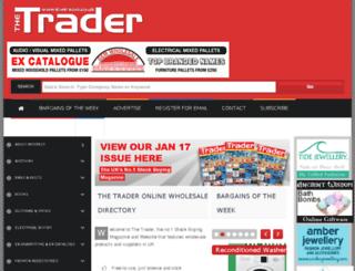 thetrader.co.uk screenshot