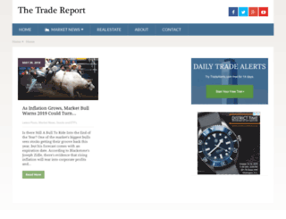 thetradereport.com screenshot